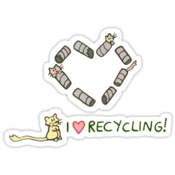 Gerbils Love Recycling