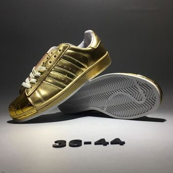 """Adidas Originals Superstar ll"" Unisex Fashion Casual Classic Shell Head Plate Shoes Couple Sneakers"