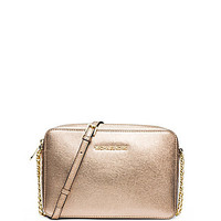 MICHAEL Michael Kors Jet Set Travel Metallic Large Cross-Body Bag | Dillards.com