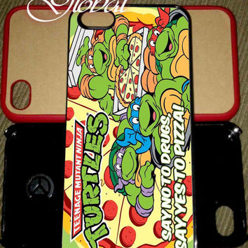 TMNT Say No To Drugs case Samsung Galaxy Case iPhone 4 iPhone 5 iPhone 5C Samsung Galaxy S4 Samsung Galaxy S5 Galaxy mini