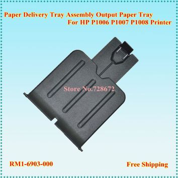 12 X RM1-6903 RM1-6903-000 Paper Delivery Tray Assembly for HP P1005 P1006 P1008 Printer