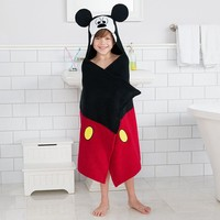 Disney's Mickey Mouse Bath Wrap by Jumping Beans (Black)