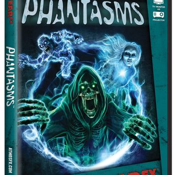 Atmosfearfx Phantasms DVD Halloween Digital Horror Decoration Ghouls Spirits Hologram