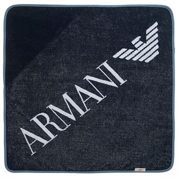 Armani Baby Towel and Mitt Gift Set