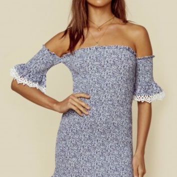 INDIGO FLIRTINI DRESS