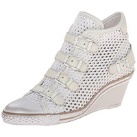 ASH Womens Leather Wedges Fashion Sneakers