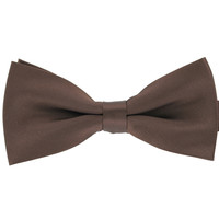 Tok Tok Designs Formal Dog Bow Tie for Medium & Large Dogs (B13, Brown)