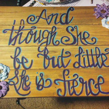 Hand lettered, wooden sign, paper flowers, quote sign, wall hanging, handmade, gift, hand painted, wood sign, gift for her, handmade sign