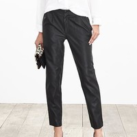 Banana Republic Pleated Faux Leather Ankle Pant