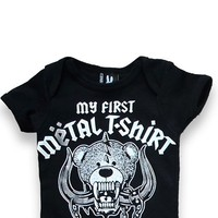 My First Metal Shirt Onesuit | Blame Betty