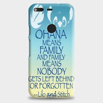 Ohana Means Family Lilo And Stitch Google Pixel 2 Case | casescraft