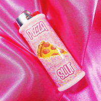 Pizza Slut Tumblr Bic Lighter Case