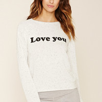 Love You Graphic Pullover