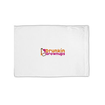 Drunken Grown ups Funny Drinking Standard Size Polyester Pillow Case by TooLoud