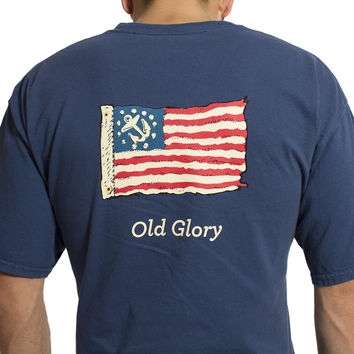 Beach Tee Midnight Old Glory