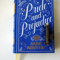 Pride & Prejudice Leather booksi for iPhone or Android