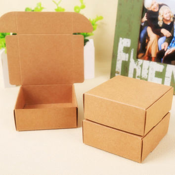 2015 Natural Kraft paper gift box for wedding,birthday and Christmas party gift ideas,good quality for cookie/candy,28 styles