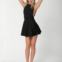 Sleeveless Backless Sheath A-Line Pleated Mini Dress