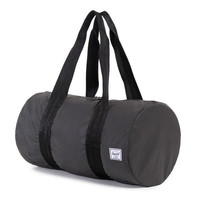Herschel Supply Co.: Packable Duffel Bag Reflective - Black