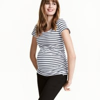 MAMA Jersey Top - from H&M