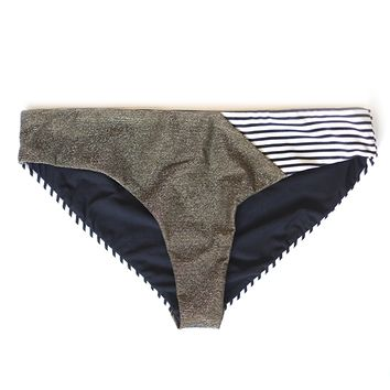 Mixed Boys Brief - Metallic Stripe