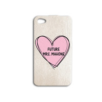 Funny Austin Mahone iPhone Case Cute Heart iPod Case Hot Pink iPhone 5 Case iPhone 4 iPhone 5s iPhone 5c iPhone 4s iPod 4 Magcon iPod 5 Case