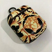 VERSACE Fashionable Cool iPhone AirPods Bluetooth Wireless Earphone Protector Protective Case(No Headphones)