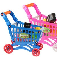 Children 's Pretend Play toys Shopping Carts toys for children kids Classic Educational toys #YL