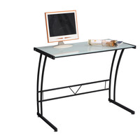Sigma Desk, Black Frame/White