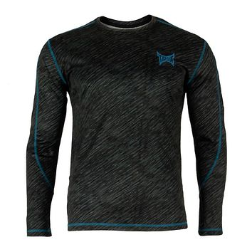 Tapout - Chrome Mens Long Sleeve Activewear T Shirt