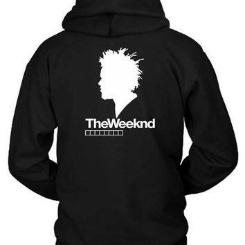 The Weeknd Siluet One Hoodie Two Sided