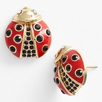 Women's kate spade new york 'little ladybug' stud earrings - Red Multi