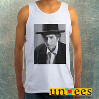 Bob Dylan Clothing Tank Top For Mens