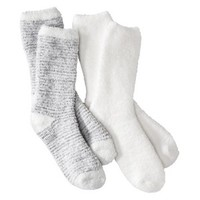 Gilligan & O'Malley® Women's 3-Pack Crew Cut Cozy Socks - Multicolored One Size Fits Most