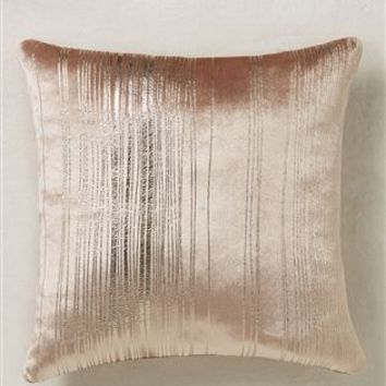 Buy Metallic Stripe Cushion from the Next UK online shop
