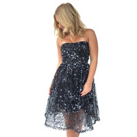 Sparkle On Babydoll Dress