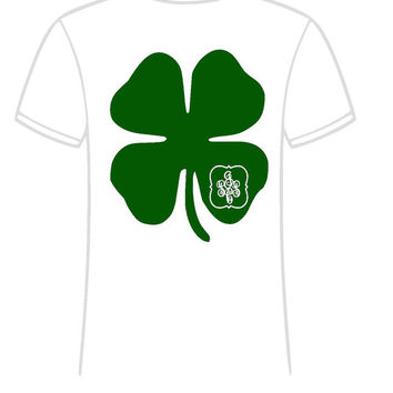 Monogrammed St. Patrick Day Short Sleeve  Youth T Shirt