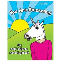 You Are Awesome - The Self Esteem Coloring Book (Featuring Sarcastic Animal Heads)