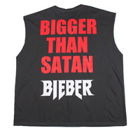 Justin Bieber Tour Stage Oversized Tee Shirt