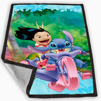 Lilo and Stitch Blanket for Kids Blanket, Fleece Blanket Cute and Awesome Blanket for your bedding, Blanket fleece *