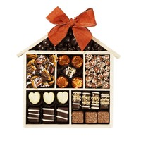 Welcome Home Exclusive Chocolate Candy and Nut Tray, Welcome to Your New Home Housewarming Gift By Chocolate Decor