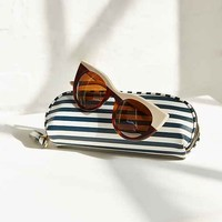 Horizontal Striped Pouch