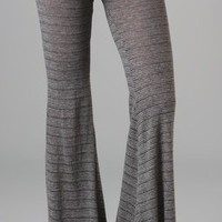 Nightcap Clothing Knit Flare Pants