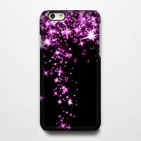 Pinky Stars Falling iPhone 6 Plus/6/5S/5C/5/4S/4 Protective Case #234