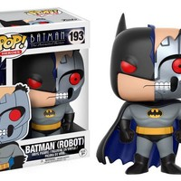 Batman: The Animated Series Robot Bat Pop! Vinyl Figure #193 New in Box
