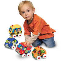 Melissa & Doug Pull-Back Vehicles Baby & Toddler Toy