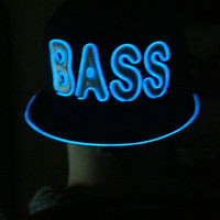 El Wire BASS Snapback Hat