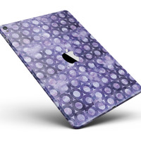 "Purple Watercolor Ring Pattern Full Body Skin for the iPad Pro (12.9"" or 9.7"" available)"