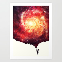 The universe in a soap-bubble! Art Print by badbugs_art