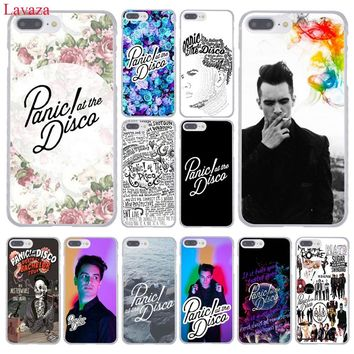 Lavaza Panic At The Disco Hard Coque Shell Phone Case for Apple iPhone 8 7 6 6S Plus X 10 5 5S SE 5C 4 4S Cover